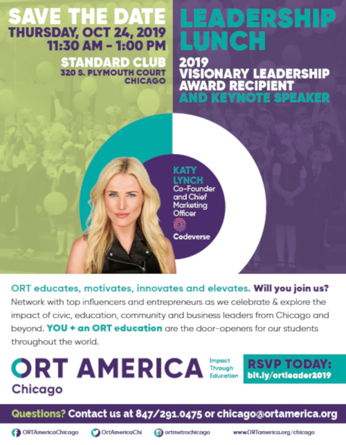 ORT Chicago Leadership Lunch