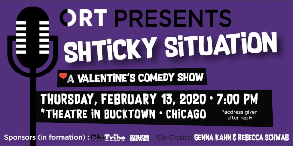 Chicago Region - Shticky Situation: A Valentine's Comedy Show @ Theater in Bucktown