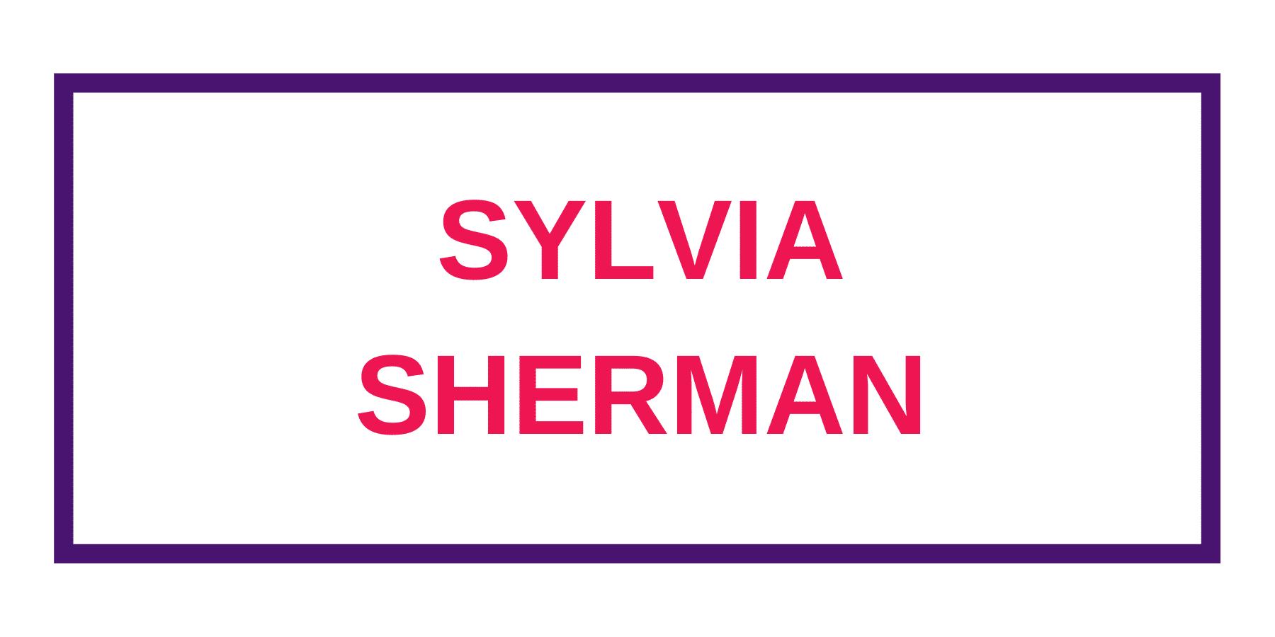 Sherman, Sylvia
